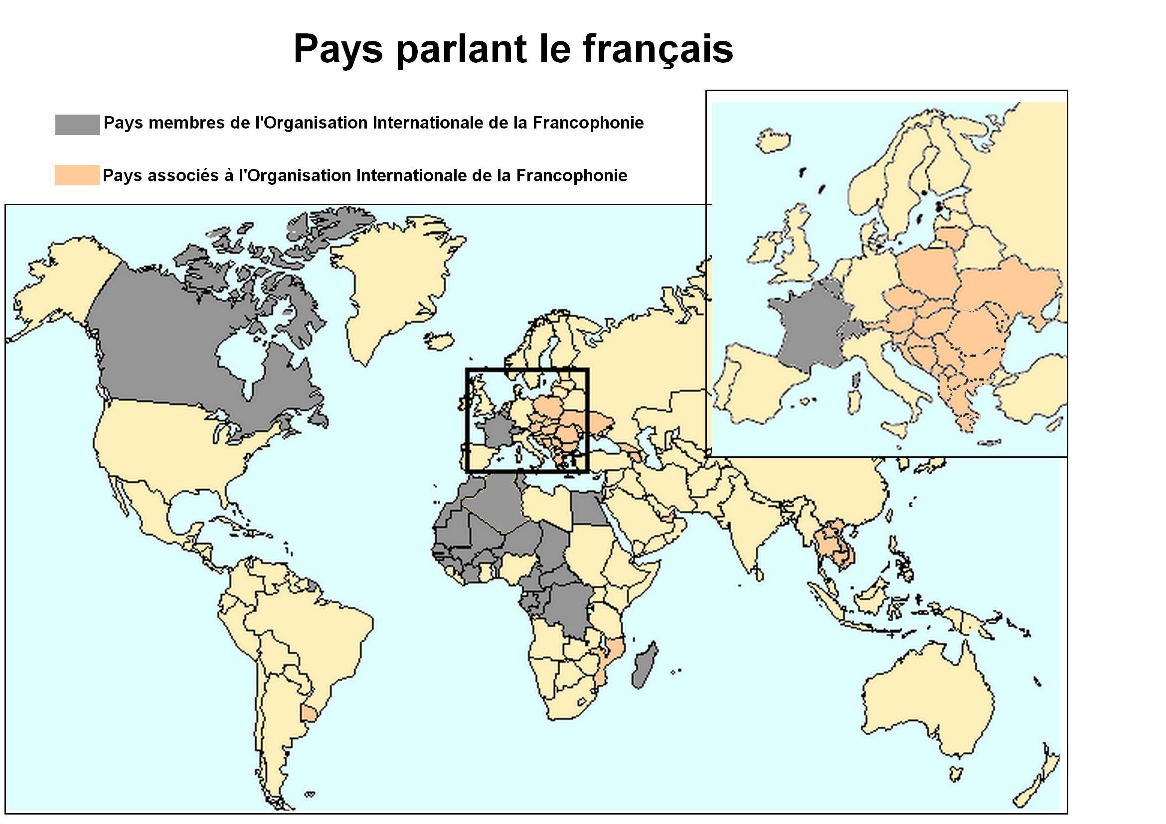Carte français fr